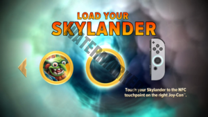 Skylanders Imaginators fully supports the NFC reader on the Joy-Con, and does not use a Portal of Power at all in the Switch release.