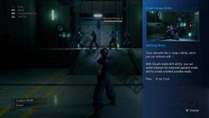 An in-game tutorial pop-up explaining Unique Abilities.