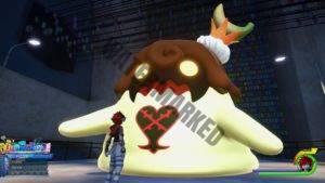Sora and the Banana Flan.