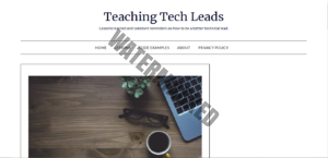 Teaching Tech Leads Homepage
