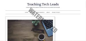 Teaching Tech Leads Homepage